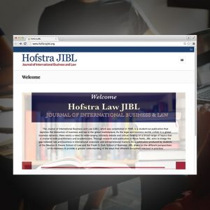 Hofstra Journal of International Business and Law