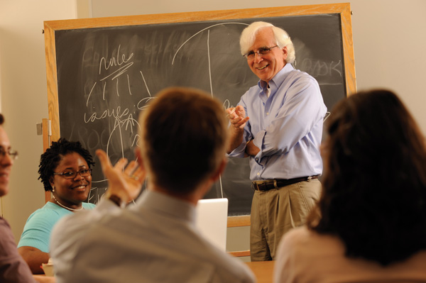 Professor Vern Walker Teaching at the LLT Lab